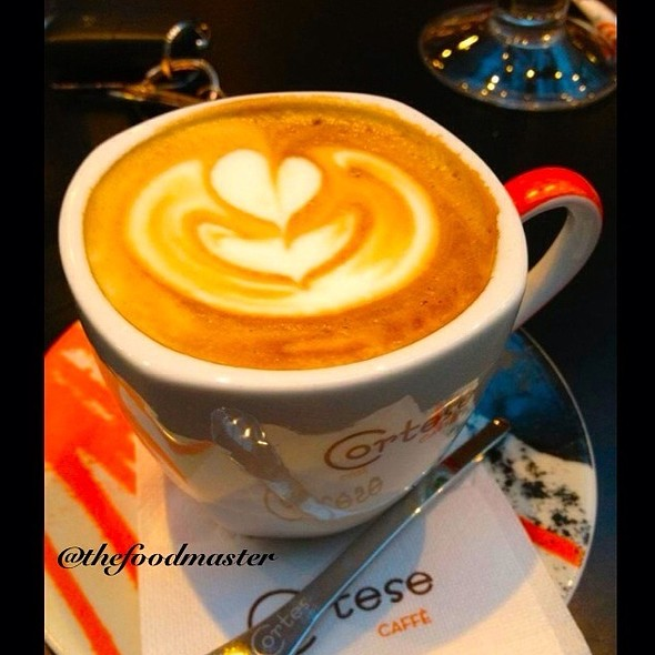 Caffe Latte @ Mercedes Cafe
