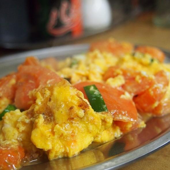中華風トマト玉子炒め