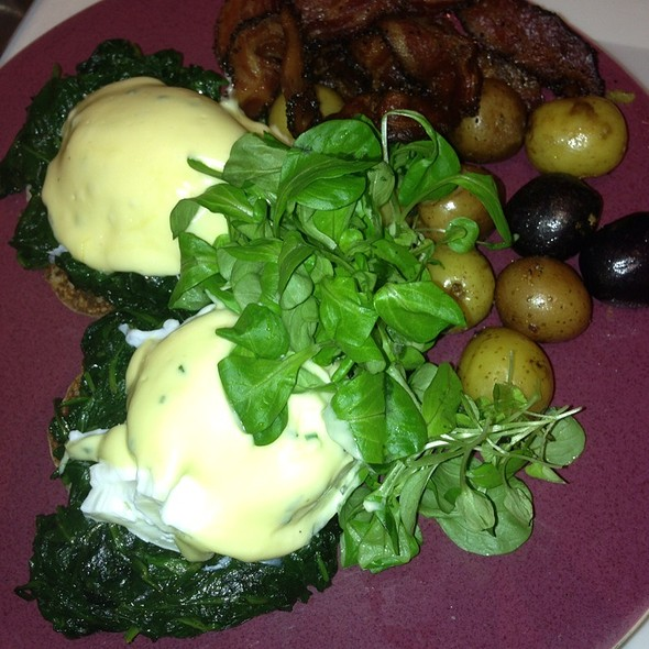 Florentine Eggs - Norma's, New York, NY