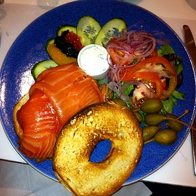 Lox And Lox Of Bagel