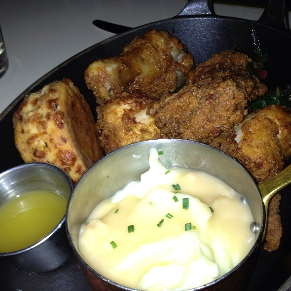 fried chicken - Lexington Brass, New York, NY