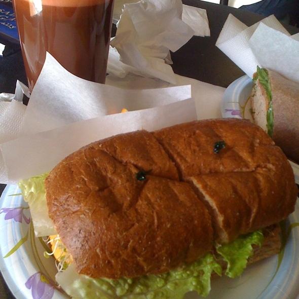 Veggie Melt & House Special Juice