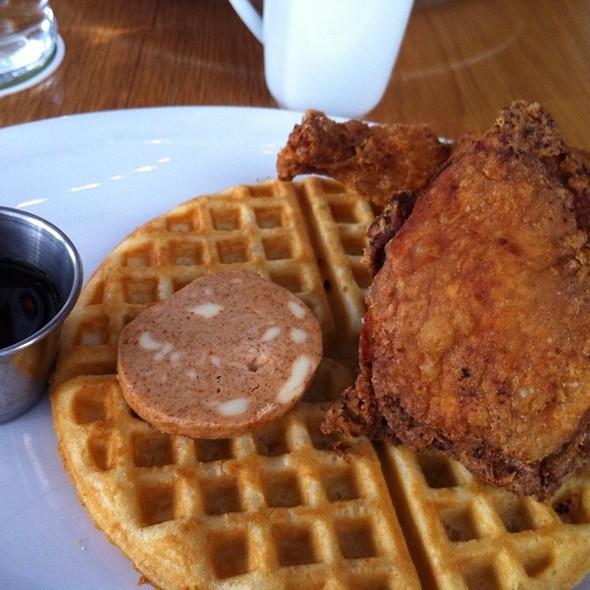 Chicken and Waffles @ Graze