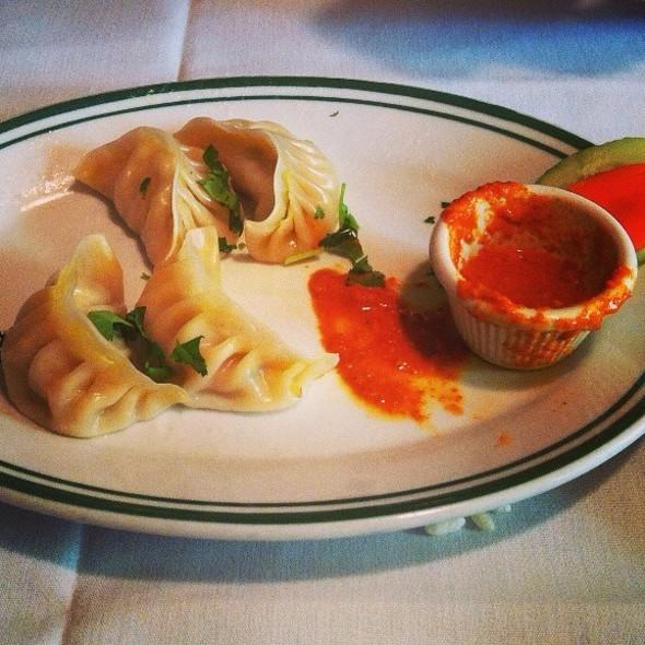 Steamed Chicken Momo @ Himalayan Heritage Restaurant