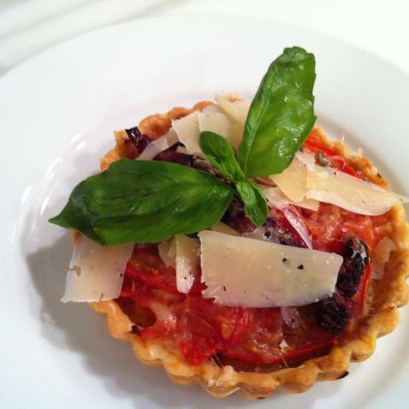 Tomato Basil Tartlet @ ReMARKable Palate Personal Chef Service