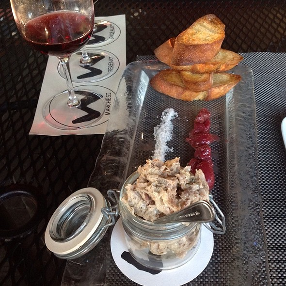 Rabbit Rillettes - Willi's Wine Bar, Santa Rosa, CA