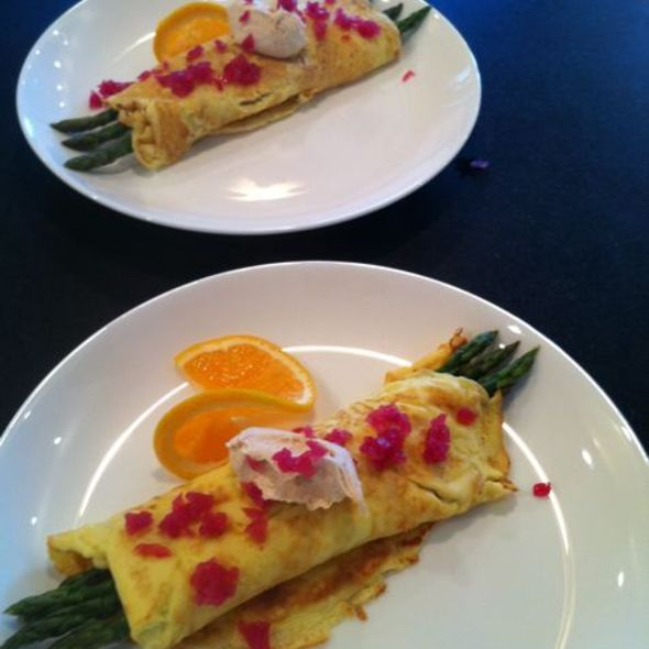 Asparagus and Mascarpone Omelet @ ReMARKable Palate Personal Chef Service