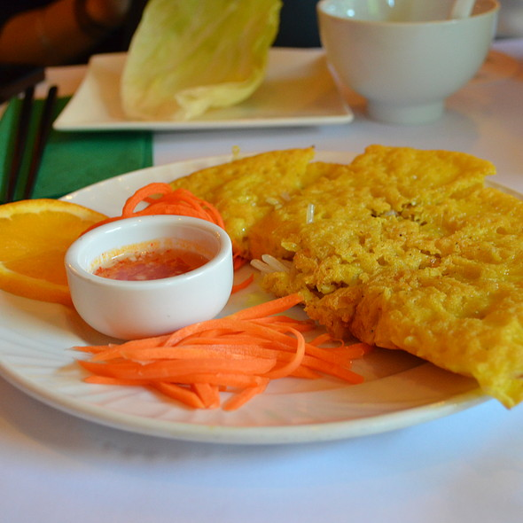 Saigon Bay Duck Pancake @ Saigon Bay Restaurant in Sydney