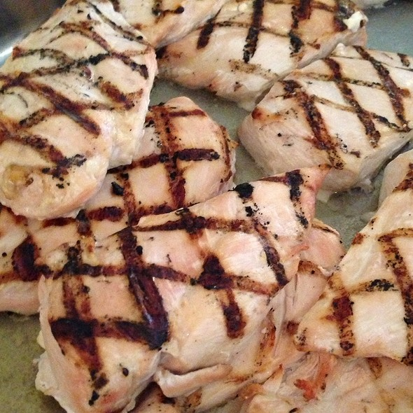 Grilled Chicken Breasts @ Suntree Country Club: Country Club Lounge