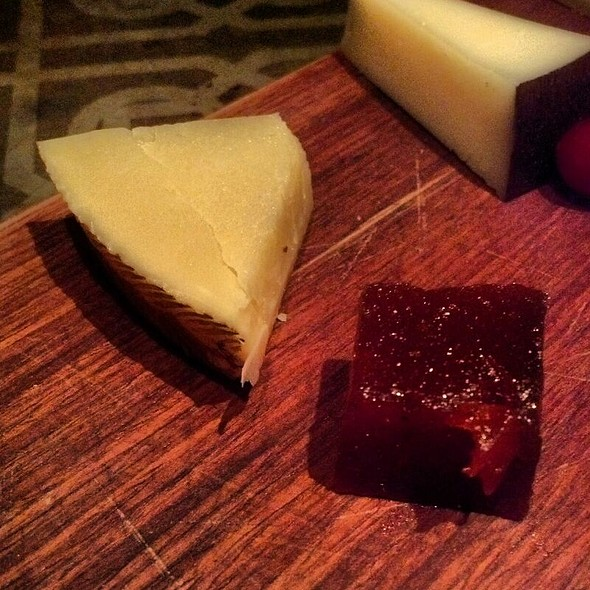 Manchego Cheese with Quince