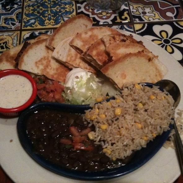 Chicken Ranch Bacon Quesadilla @ Chilli's Grill & Bar