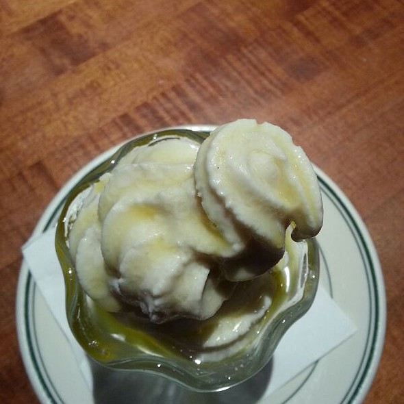 Soft Serve Ice Cream with Olive Oil and Sea Salt @ Sam's Chowder House
