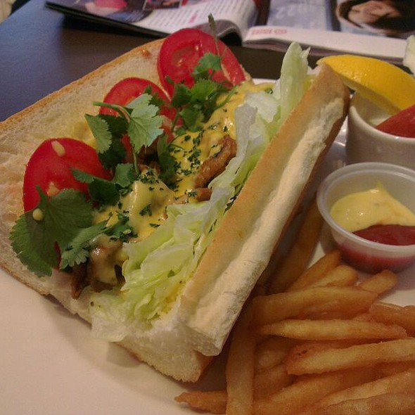 Spicy Chicken Sandwich @ 古迪歐Goody.O