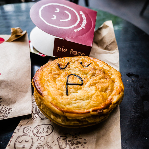 Meat Pie @ Pie Face
