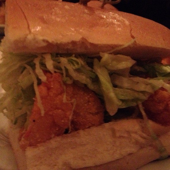 Fried Shrimp Po' Boy - Harold And Belle's Creole Restaurant, Los Angeles, CA