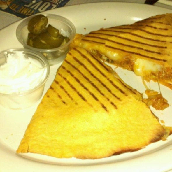 Chicken Quesdilla @ The Brass Ring Lounge