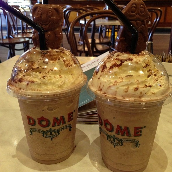 Iced Chocolate Frappé @ Perth Domestic Airport (PER)