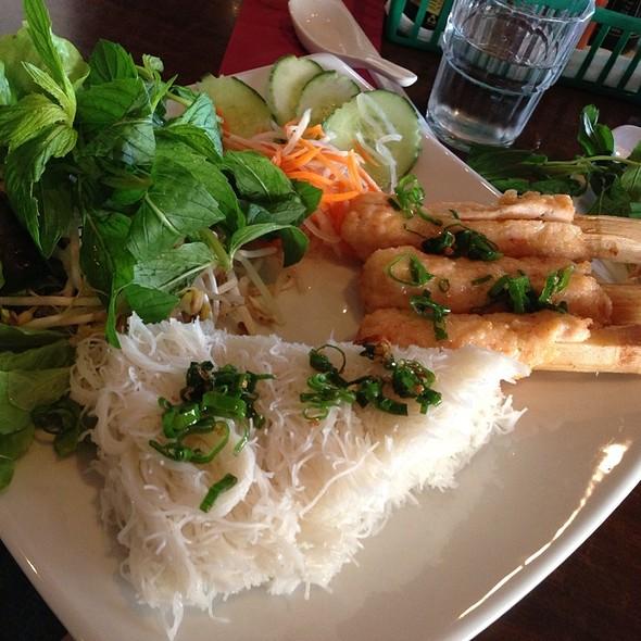 Sugarcane Prawns @ Phi Yen Vietnamese Restaurant