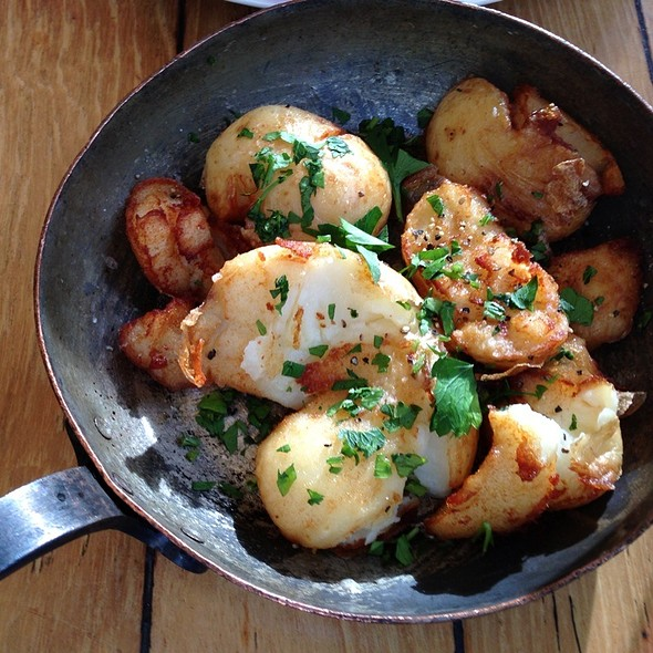 Chat Potatoes @ Meat Market South Wharf