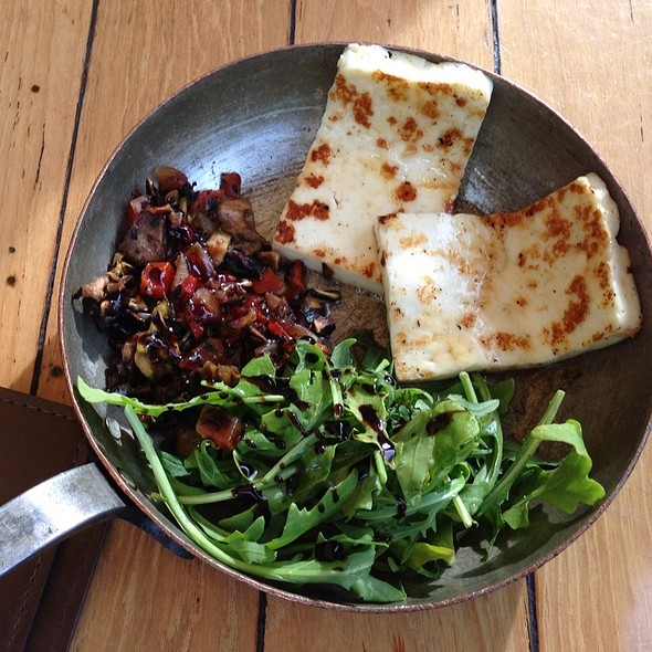Grilled Haloumi @ Meat Market South Wharf