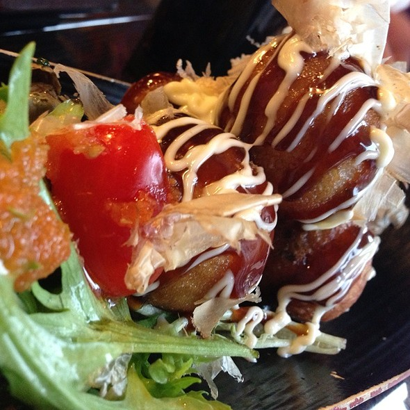 Takoyaki @ Zen Japanese Restaurant & Sushi Bar