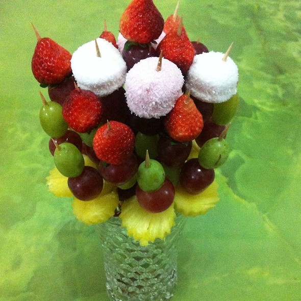Friut Flower Made By Me  @ Sweet Home