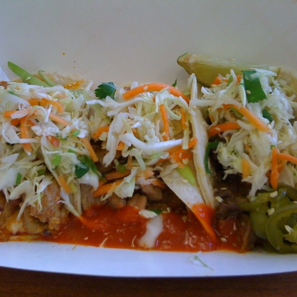 Korean BBQ Tacos @ Marination Mobile