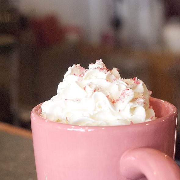 Peppermint Hot Cocoa @ Cafe Sol