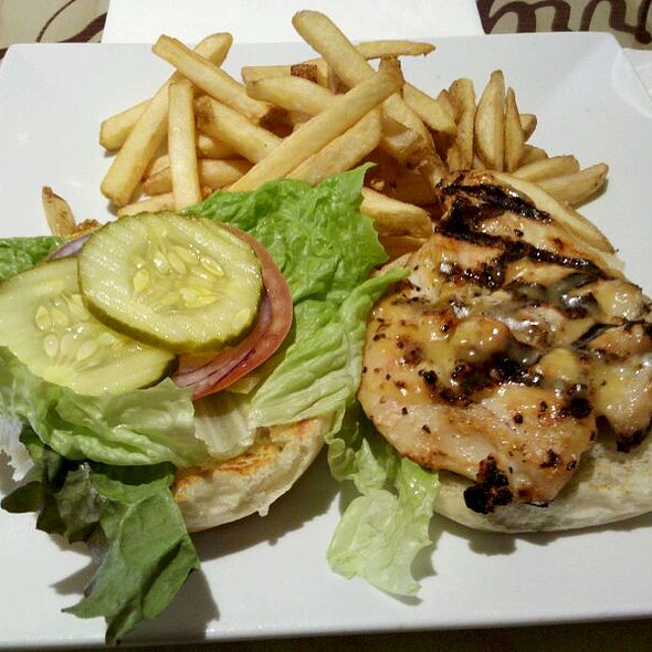 Grilled Chicken Sandwich @ Jerry Remy's Sports Bar
