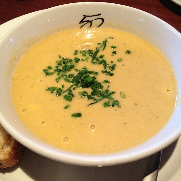Corn and Crab Bisque @ Seasons 52 Fresh Grill