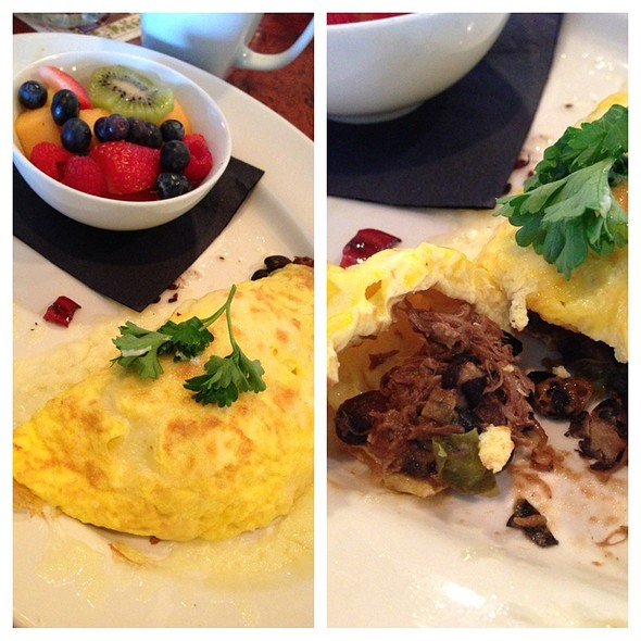 The Crooked Duck Omelette