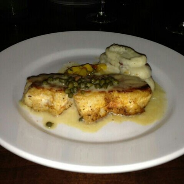 Grouper Picatta @ Grille One Sixteen