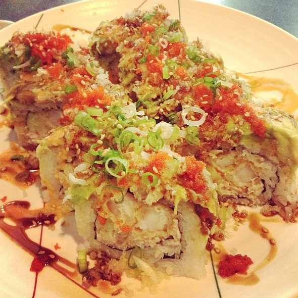 Dragon Roll @ Saburo's Sushi House Restaurant