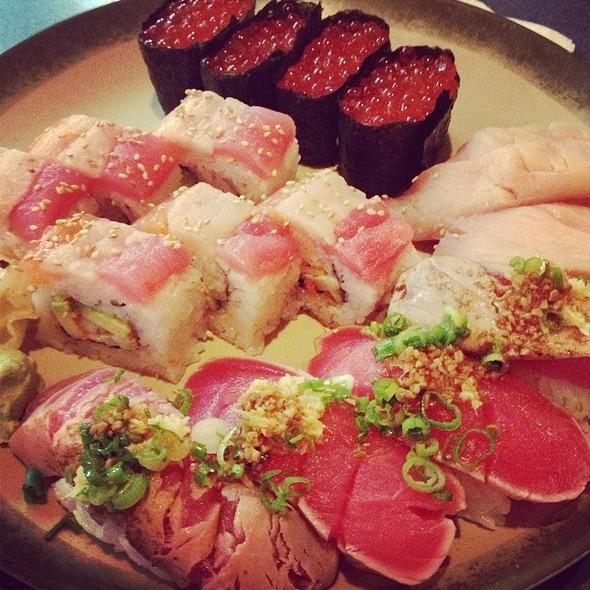Assorted Sushi @ Saburo's Sushi House Restaurant