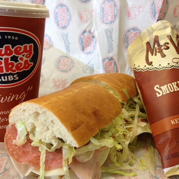 jersey shore's favorite @ Jersey Mike's Subs