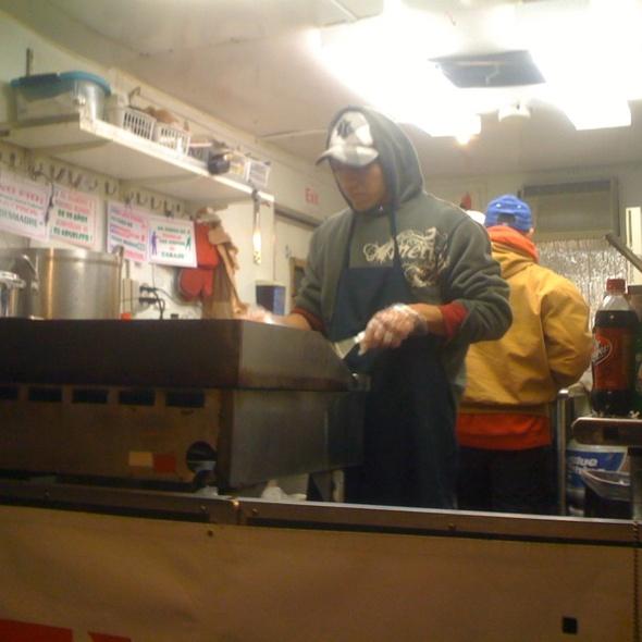 Chorizo Tacos @ Taco Truck @ El Bohemio On Washington Street
