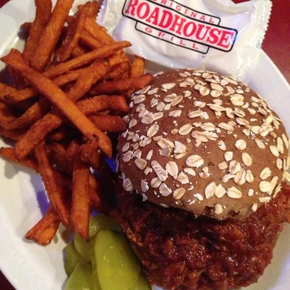 Pulled Pork Sandwich - Original Roadhouse Grill - Long Beach, Long Beach, CA