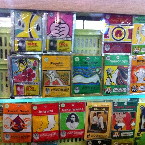 Indonesian Herbal Drink