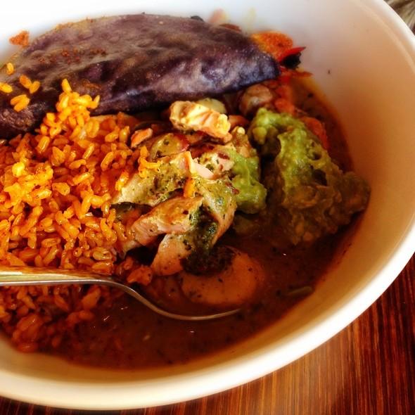 Seafood Hot Pot with Rice @ Bluecorn