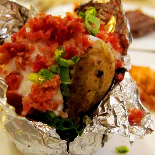 Baked Potato @ Fairmont Hotel Makati
