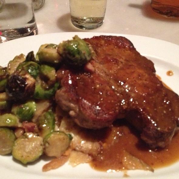 Pork Porterhouse @ Meat & Potatoes