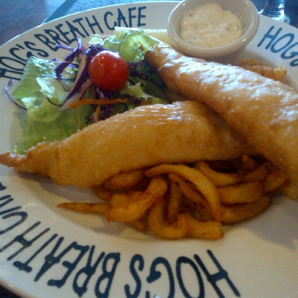 Fish & Chips @ Hog's Breath Cafe, SM Lanang Premier