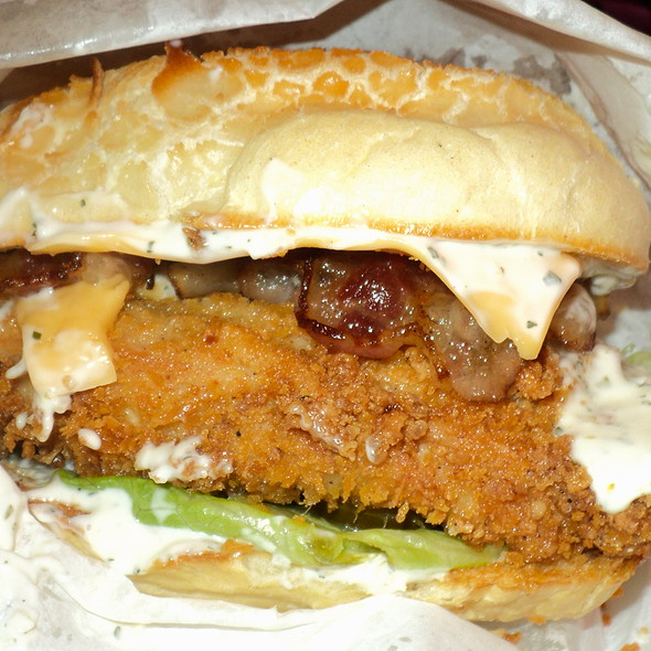 Ranch Chicken Fillet Sandwich @ Elbert's Cheesesteak Sandwiches