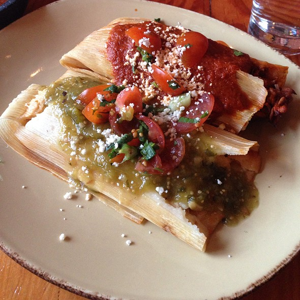 tamales @ Tres Agaves Tequila Lounge & Mexican Kitchen
