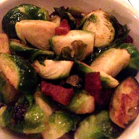 Brussel Sprouts And Bacon - Mon Ami Gabi - Las Vegas - Main Dining Room