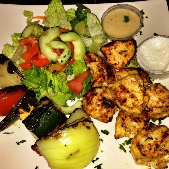 chicken kabob - Skewers Mediterranean Café & Grill, Houston, TX