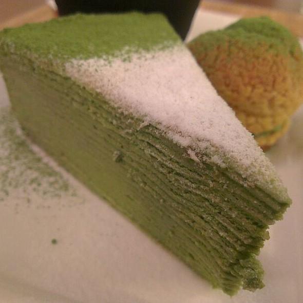 Matcha Layer Cake @ 和茗 甘味處