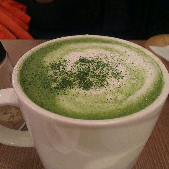Matcha Latte @ 和茗 甘味處