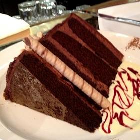 Chocolate Hazelnut Cake - The Capital Grille - Las Vegas, Las Vegas, NV