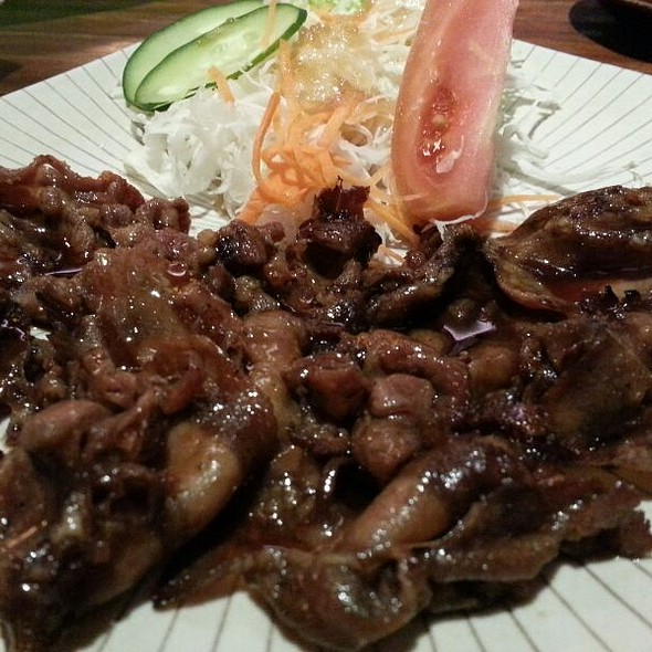 Gyutan Teriyaki @ Kiyadon Sushi Grand Indonesia